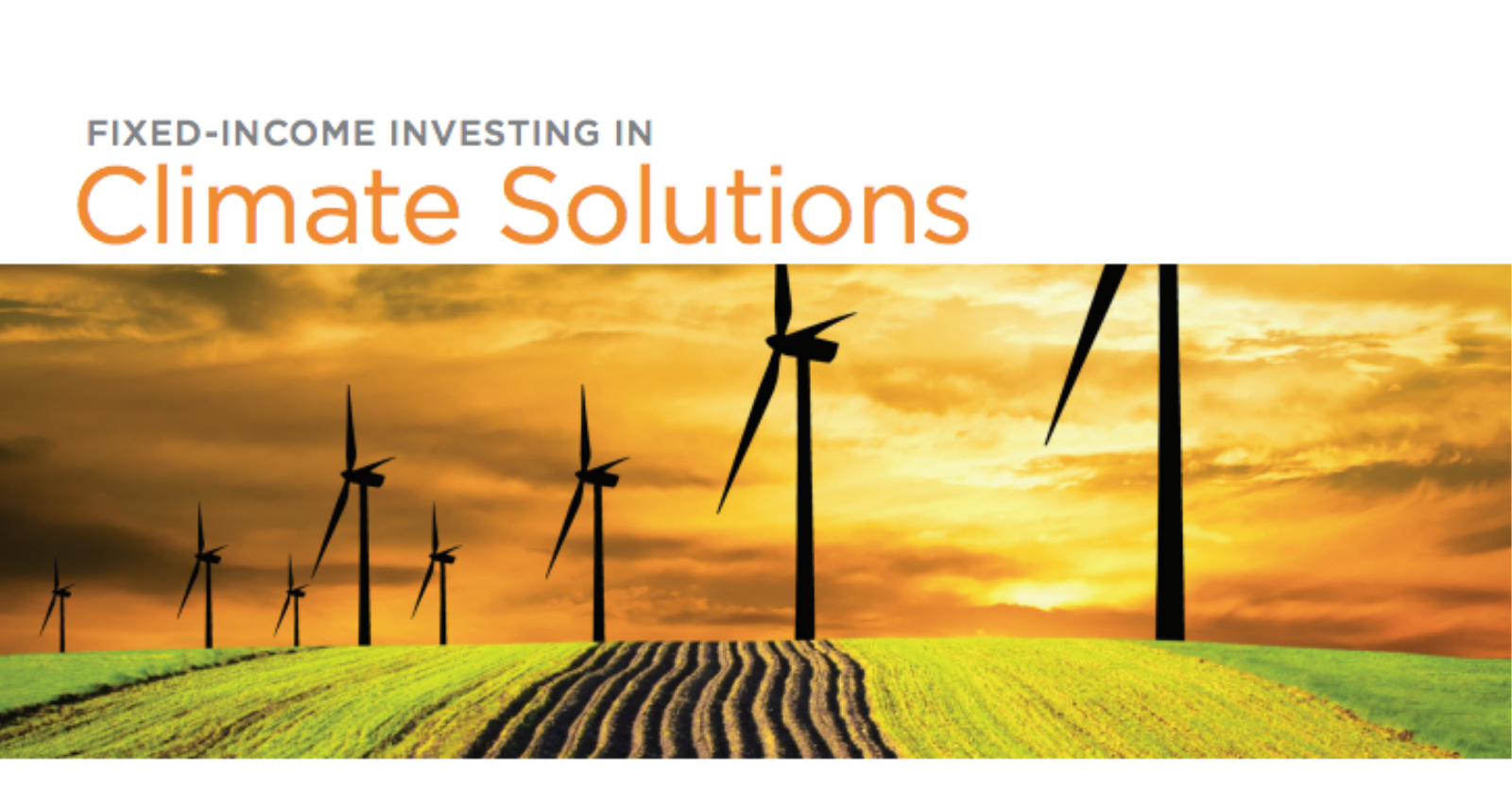 Fixed Income Investing in Climate Solutions