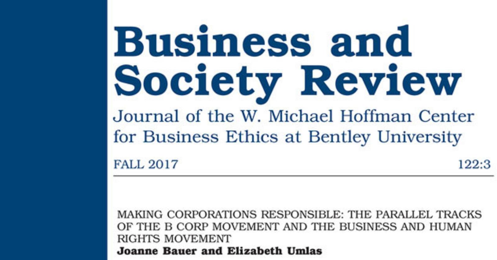 Making Corporations Responsible