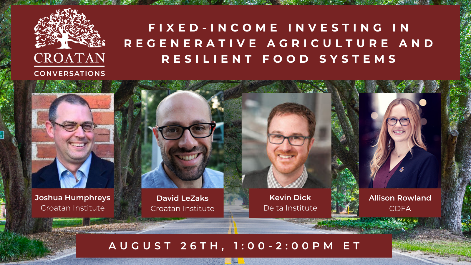 Fixed-Income Investing in Regenerative Agriculture and Resilient Food Systems
