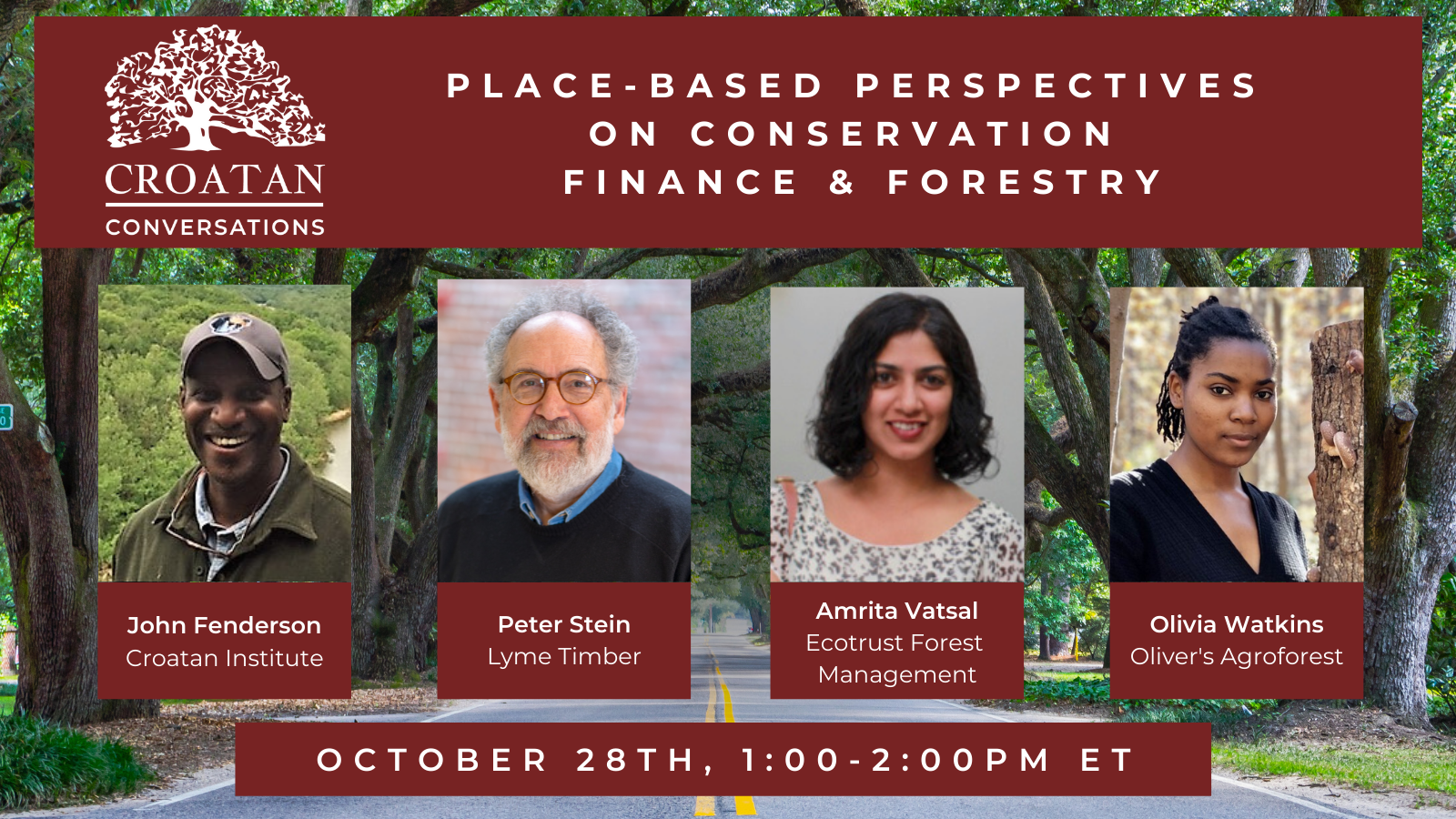 Place-Based Perspectives on Conservation Finance & Forestry