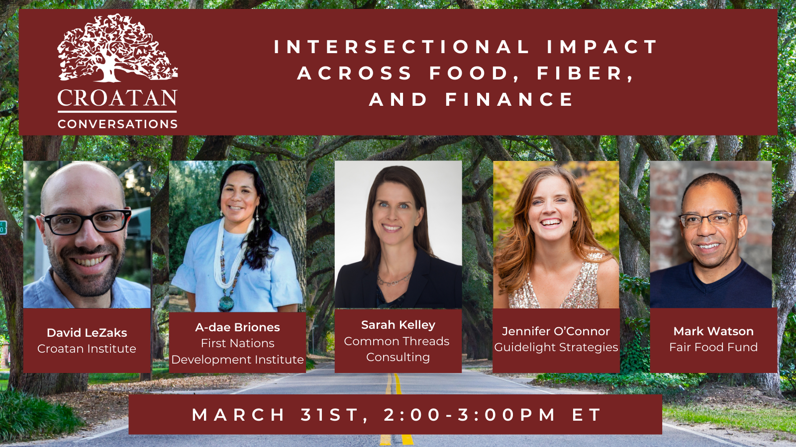 Intersectional Impact Across Food, Fiber and Finance