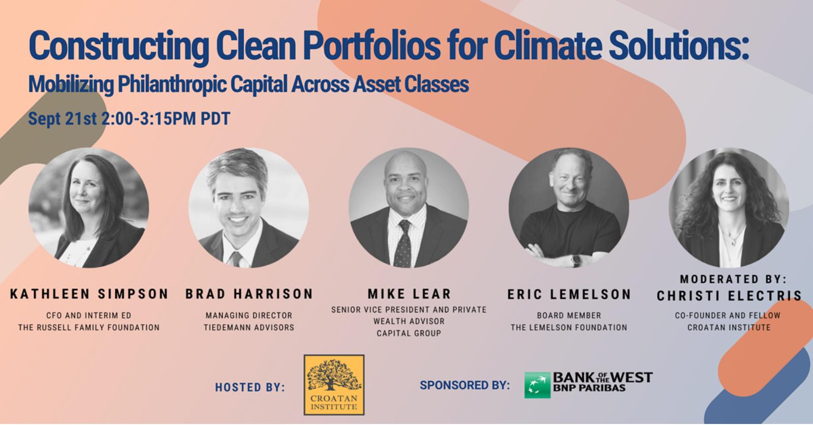 Mobilizing Philanthropic Capital Across Asset Classes